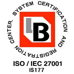 ISO/IEC 27001 IS177(関東支社認証)