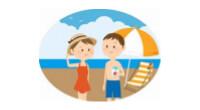 平均年次有給休暇取得日数14日超(率で約8割)